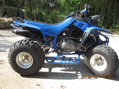 Atv on Yamaha Warrior 350 Transmission