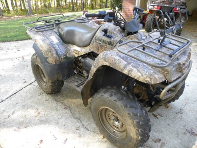 2003 Kawasaki Prairie 360 cc ATV for sale, Cataula, Georgia 31804
