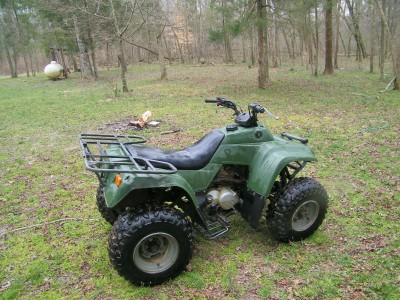 2005 Kawasaki Bayou 250 cc ATV for sale, berland, Virginia 23040