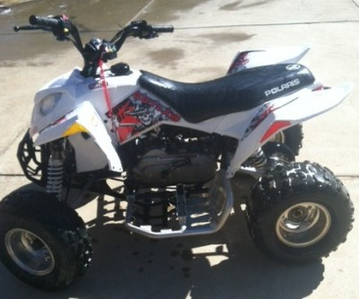 2009 Polaris Outlaw 90 cc ATV for sale, smiths station