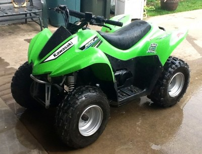 Picture of 2012 Kawasaki KFX 90