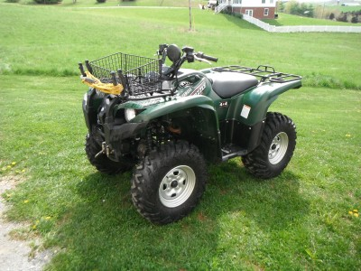 2009 Yamaha Grizzly 700 cc ATV for sale, Christiansburg, Virginia 24073