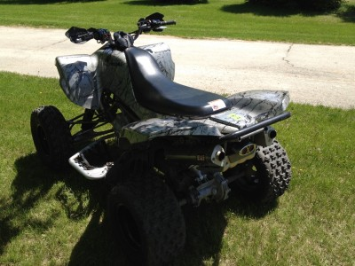 Picture of 2005 Kawasaki KFX 750