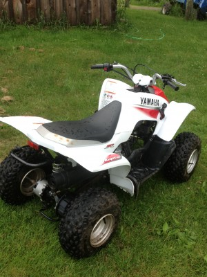 2004 yamaha raptor 50 cc atv for sale windham new york 12496
