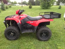 Picture of 2008 Suzuki KingQuad 750 750