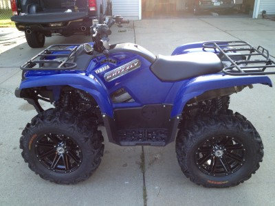2012 yamaha grizzly 700 cc atv for sale sergeant bluff