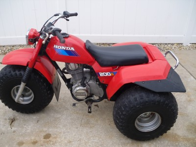 Picture of 1985 Honda Big Red 250