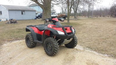 Picture of 2003 Honda FourTrax Rincon 700