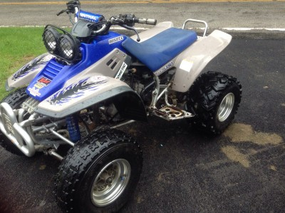 1999 yamaha warrior 350 cc atv for sale fremont ohio 43420 for Yamaha warrior for sale