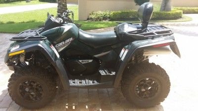 Picture of 2007 Can-Am Bombardier Outlander MAX 800
