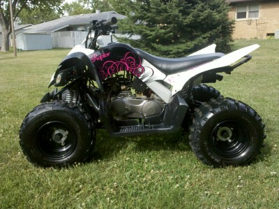 2009 yamaha raptor 90 cc atv for sale genoa illinois 60135. Black Bedroom Furniture Sets. Home Design Ideas