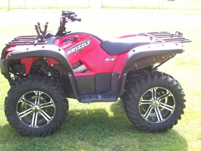 2008 yamaha grizzly 700 cc atv for sale grand rapids