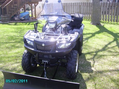 2009 suzuki kingquad 750 750 cc atv for sale cottage for Cottage grove yamaha