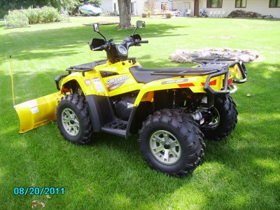 2007 can am bombardi outlander 400 cc atv for sale for Cottage grove yamaha